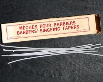 Vintage Barber's Singeing Tapers