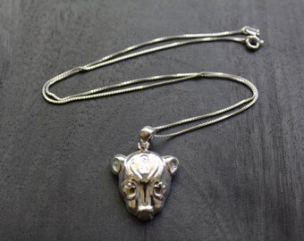 Sterling Silver Sekhmet (Goddess of Healing and Protection)
