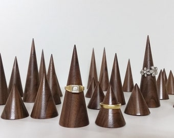 Ringholderset / Ring Cone / Assecory / jewelry display / Organiser / ringorganiser/ Wedding gift