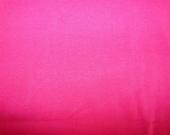 Fabric - cotton rib fabric - Vibrant pink