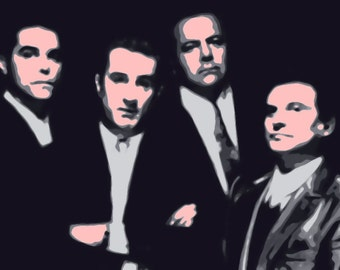 Cool Goodfellas Pop Art Painting Paint By Number Kit