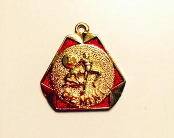 Horoscope Pendant Gemini the Twins Red Gemini Pendant Zodiac Sign Zodiac Jewelry