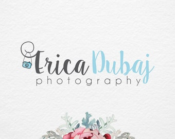 Photography Logo, Premade  Logo Design, Little Camera Logo