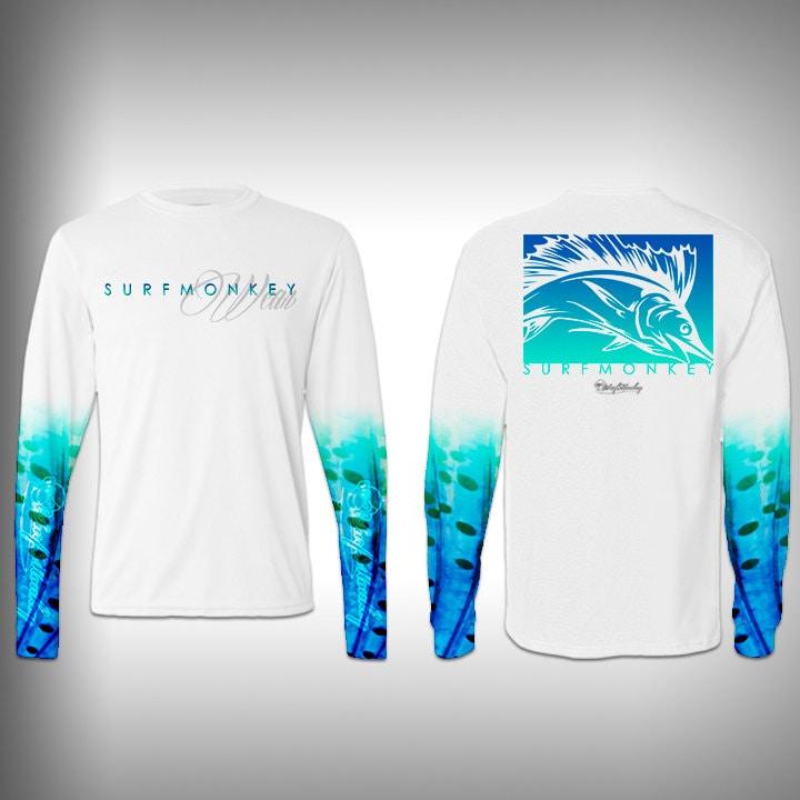 Mens tshirt unisex tshirt sail fish scale sleeve custom for Fish scale shirt