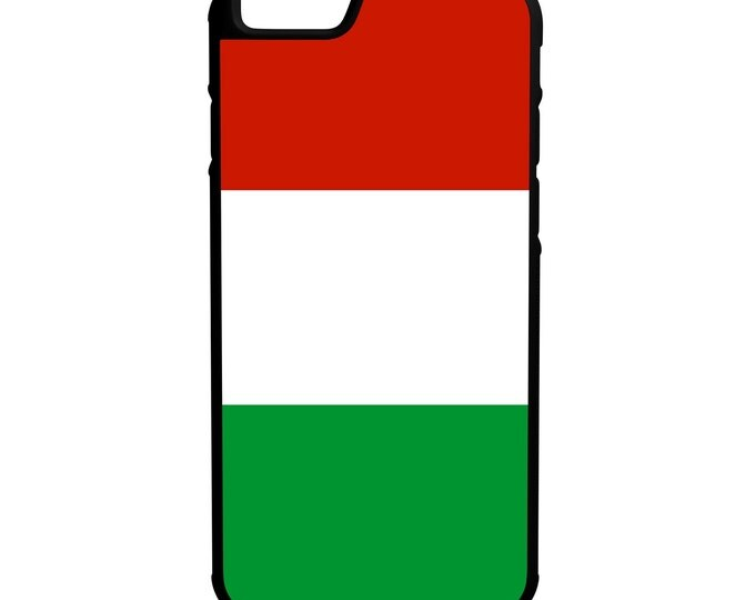 Flag of Italy iPhone Galaxy Note LG HTC Hybrid Rubber Protective Case
