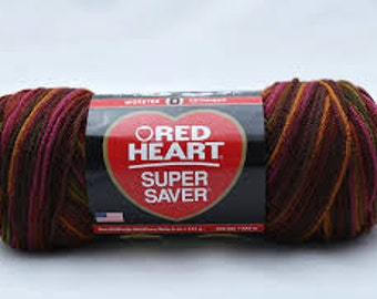 Red Heart Super Saver - Cherry Cola