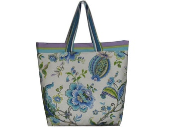 Picnic bag shopper beach bag