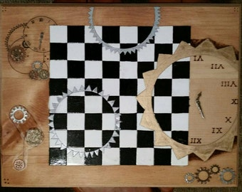 Clockwork Chess Board