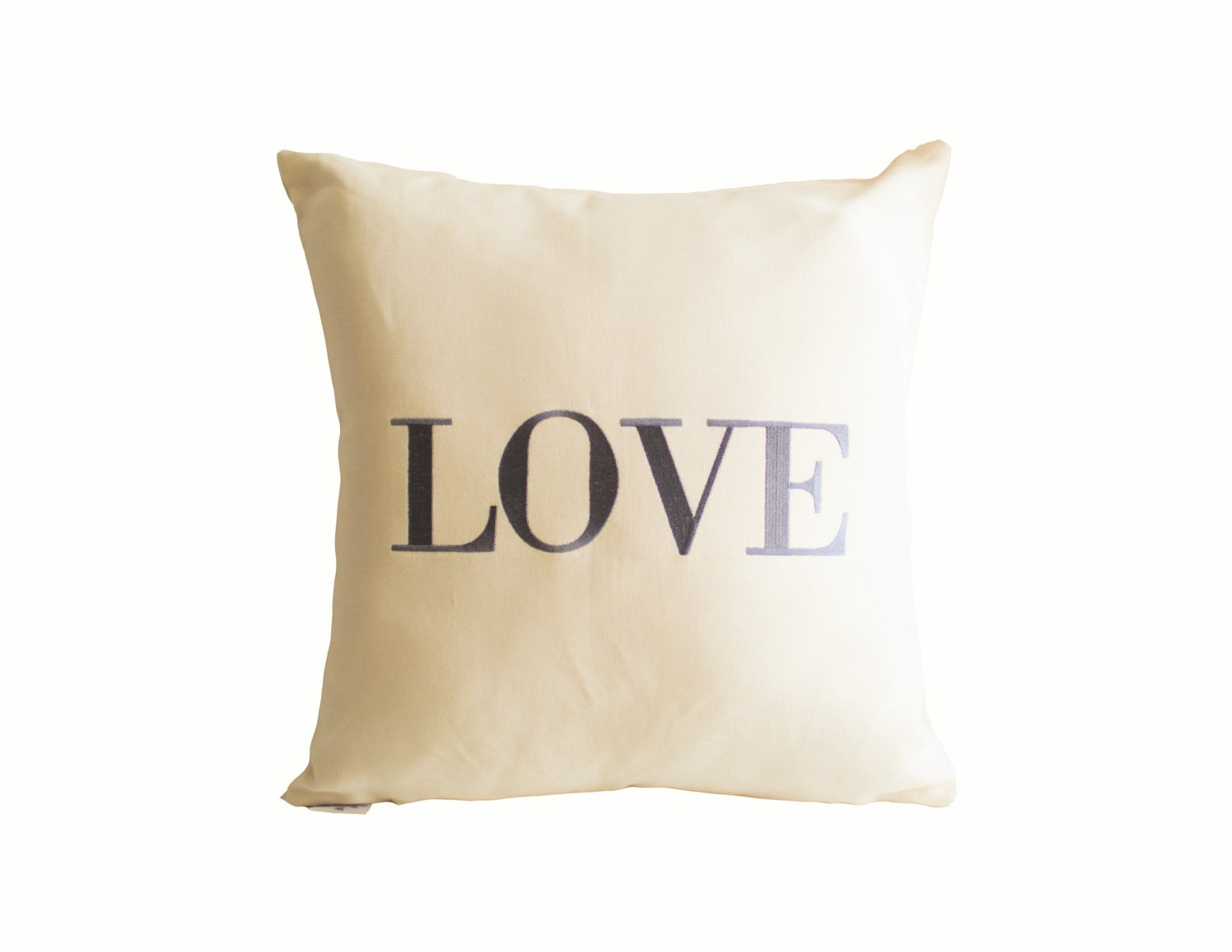 Decorative Love Pillow : Love Pillow Throw Pillow Decorative Pillow Linen Pillow