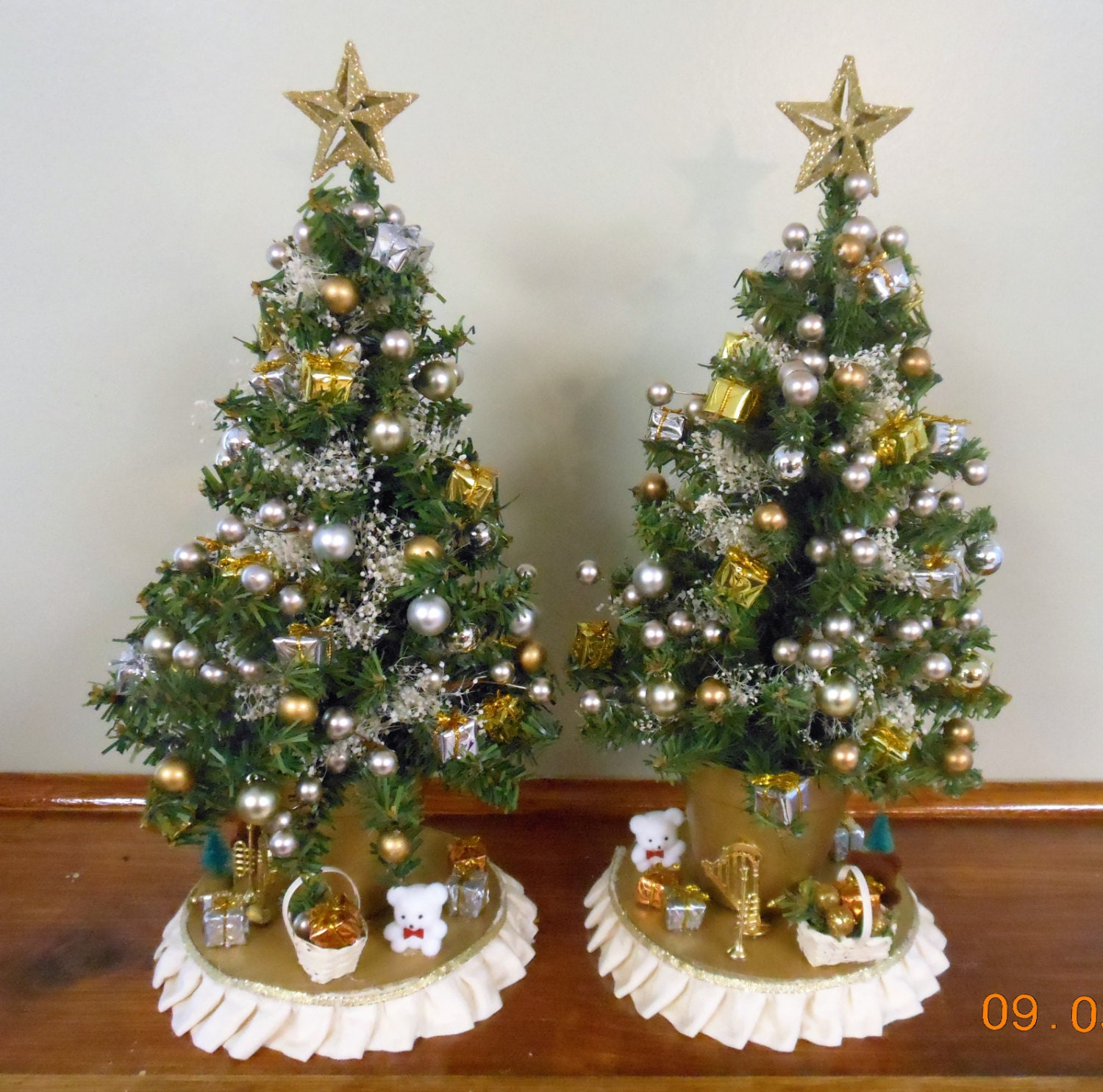 Christmas tree decoration tabletop tree small christmas tree Small christmas centerpieces