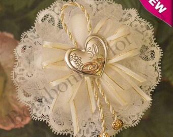 Confetti Flowers Almond  Flowers Wedding Favors 50th wedding anniversary Bomboniere