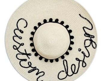 Custom Design Floppy Sun Hat