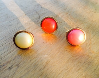 Knoopring button ring vintage style