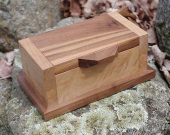 Walnut and Figured Maple Box