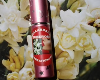 TUBEROSE PERFUME 5ml *Tuberose Fragrance* 5ml Pink Moon and Star Atomizer* Boxed*