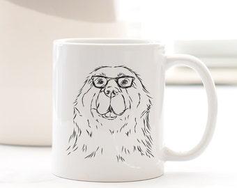 Boomer Newfoundland Dog Mug - Gifts For Dog Owner, Newfoundland Lover, Newfoundland Art, Newfoundland Gift, Dog Art, Newfie Gift