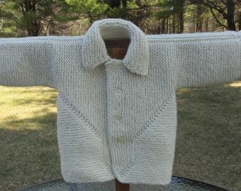 Alpaca & Wool Toddler Sweater