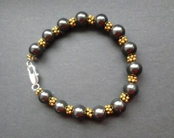 Shungite Bracelet/ Shungite polished