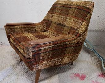 Kurt Ostervig Danish lounge chair in teak, 1960s