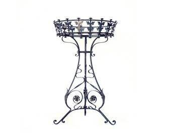 "Antique flowerstand wrought iron ""Gründerzeit"""