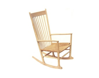 Hans Wegner Rocking Chair Model J16