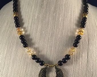 Beaded Ethnic Inspired Necklace