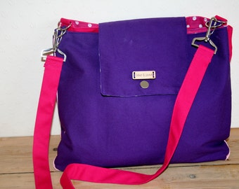 Canvas bag 2 in 1, fully customisable