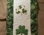 St Patrick's Quilted Table Runner