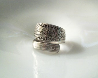 Spoon Ring-- Size 10.25