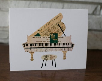 Piano Note Cards