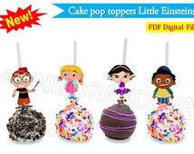Printable Disney Little Einsteins, Cake Pop Toppers, Cupcake Topper, decoration, digital file, Circle Favor Tags, You Print, 60%OFF THE BEST