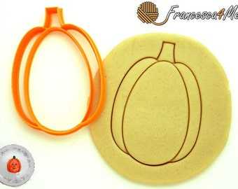Tall Pumpkin Cookie Cutter