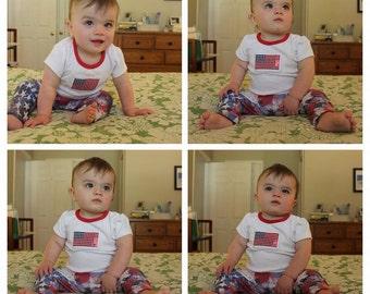 Baby and Toddler Patriotic Leggings