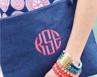 GREAT PRICE!!!!!!! ONLY 12.00 !!!!!!    Monogrammed Mud Pie Bikini Bags