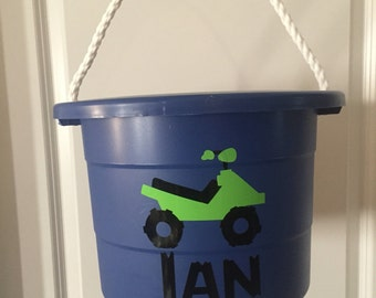 Large 2.5 Gallon Personalized bucket