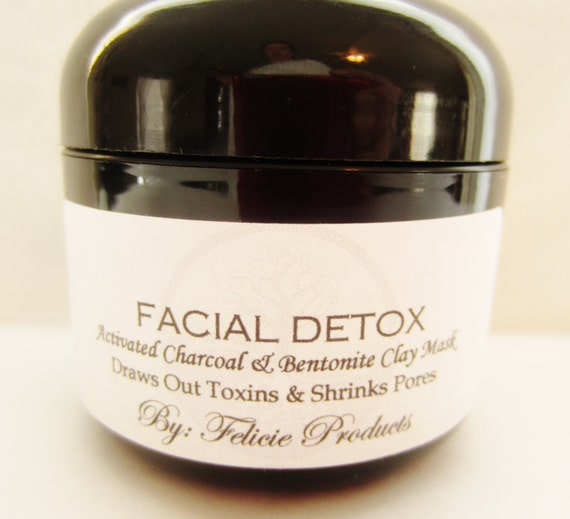 Bentonite Clay And Activated Charcoal Face Mask: Clay Facial Mask With Bentonite Clay & By FelicieProducts
