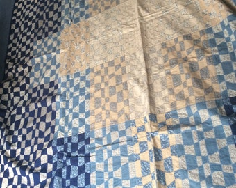 Vintage Laura Ashley patchwork quilt
