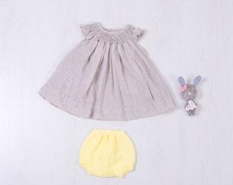 DRESS grey may