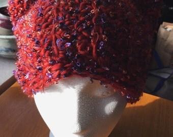 Crocheted Cat Hat