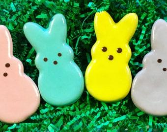 Gourmet Dog Treats: Homemade Peep Bunny Dog Cookies