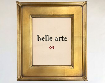 Gold Leaf Plein Air Picture Frame | Size: 11x14