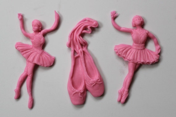 Ballerina cake topper 12pcs ballet cupcake toppers edible for Angelina ballerina edible cake topper decoration sale