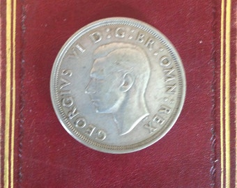 Crown English Coin 1937