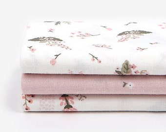 Little Bride - Quarter Fabric Pack 3 Fabric 1set - Sets for 3 each 45 X 55 cm