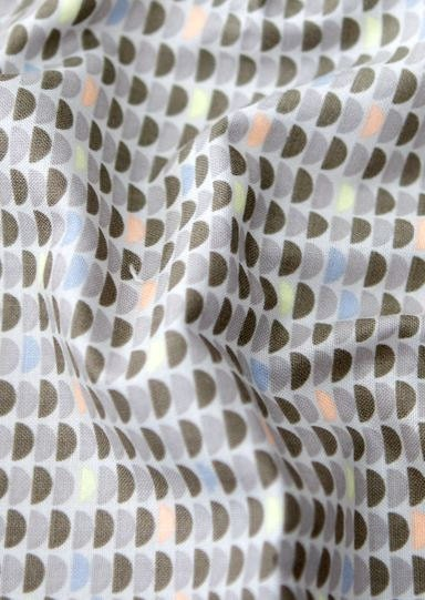 Half moon pattern cotton fabric by yard by luckyshop0228 for Moon pattern fabric