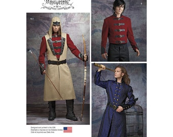 Simplicity Sewing Pattern 8235 Men's Cosplay Costume Pattern