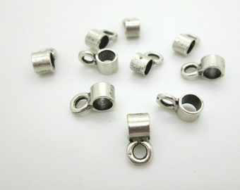 Small Silver Pewter Bail, 13mm (10)