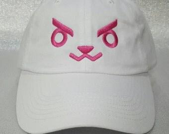 Overwatch D.Va Bunny Face Cap