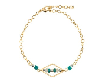 Manta lagoon Gold Bracelet