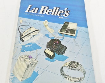 La Belle's Catalog 1984 - 1985, 42 Pages Electronics Toys - GI Joe, Transformers